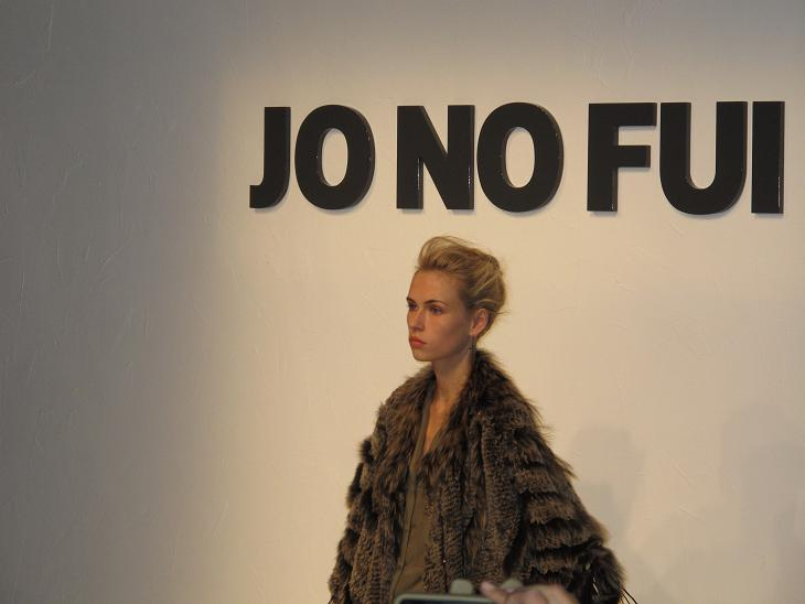 JO NO FUI Fashion Show. MFW S/S 2013.
