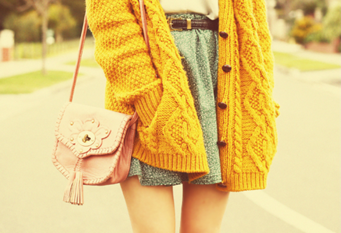yellow-cardigan